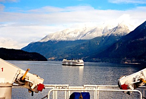 BC Ferries from Horseshoe Bay